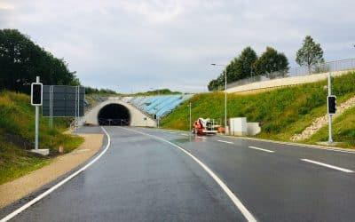 Straßentunnel in Freising